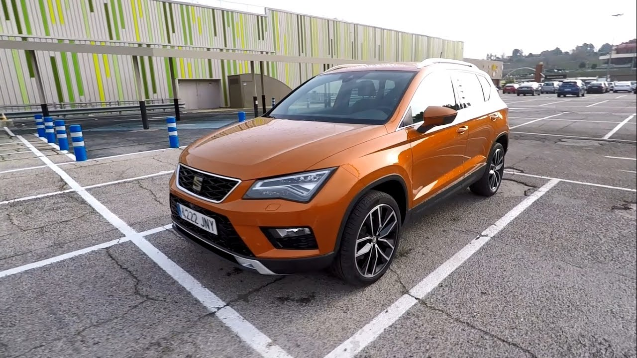 seat ateca xcellence tour interior maletero youtube. Black Bedroom Furniture Sets. Home Design Ideas