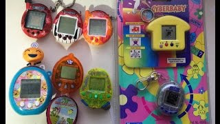 Virtual Pet Collection - Tamagotchi, Nano Kitty, and Other Pets