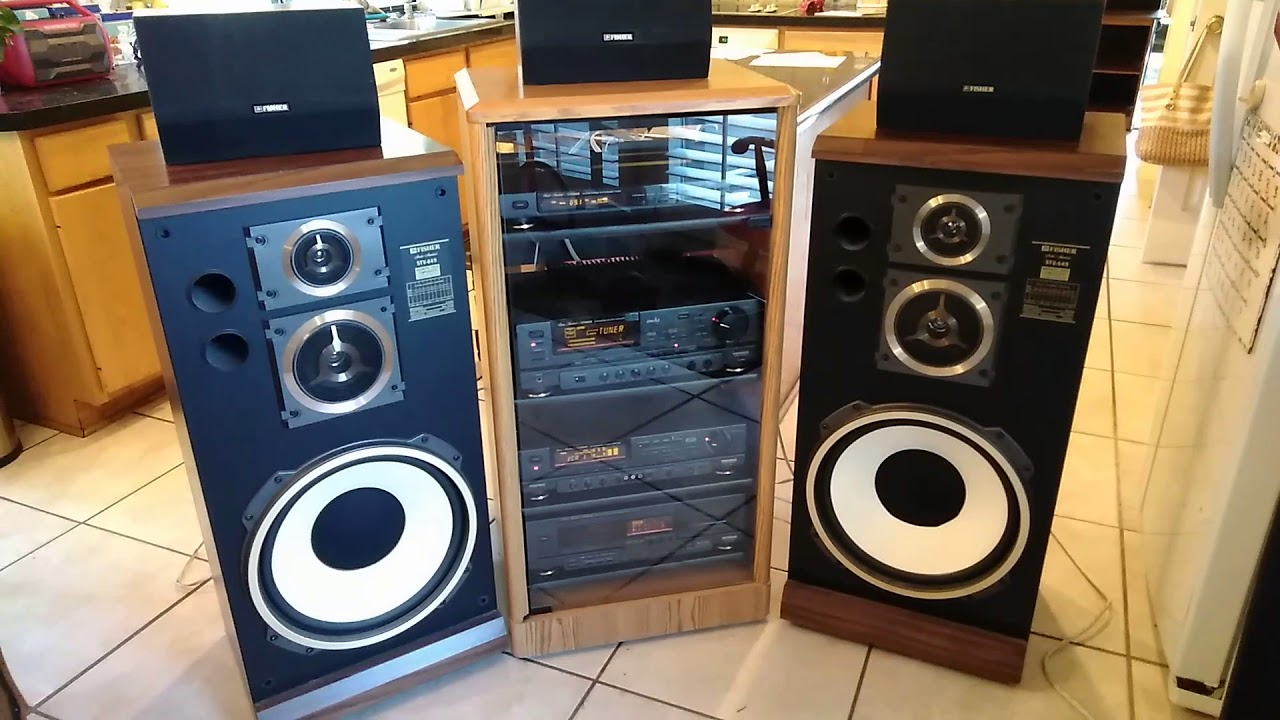 Fisher Home Stereo System