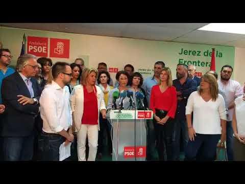 """Mamen Sánchez da el paso para liderar el PSOE en Jerez con una candidatura """"en equipo"""""""