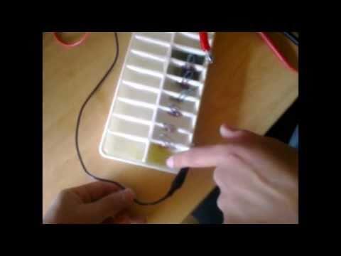 Como hacer una bater a quimica electrolisis youtube - Como hacer una mosquitera ...