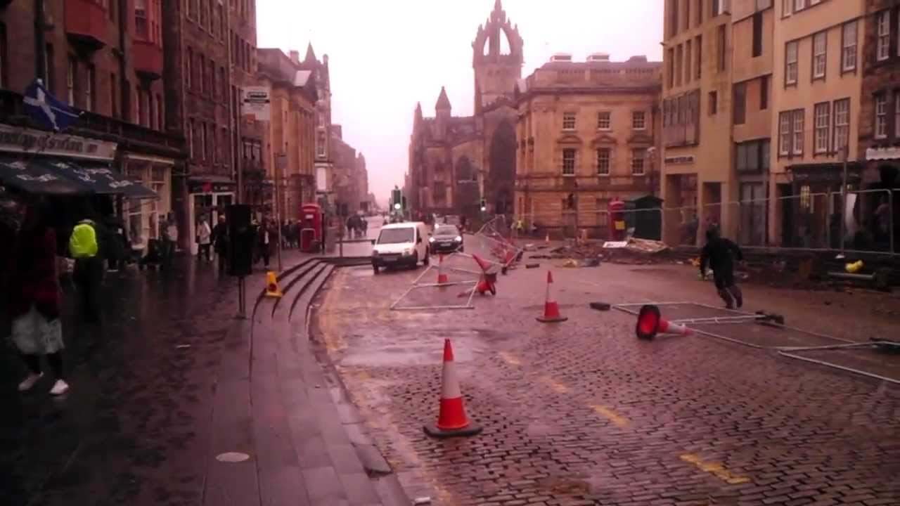 CRAZY STORM in Edinburgh Scotland, Hail and Snow Extreme ...