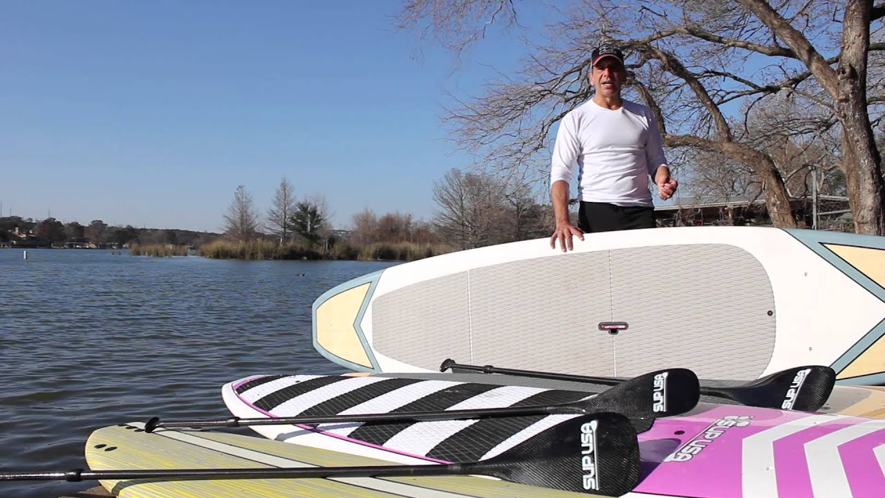 SUP USA Stand Up Paddle Board Bundle - How to sup - YouTube 804ae1fb4