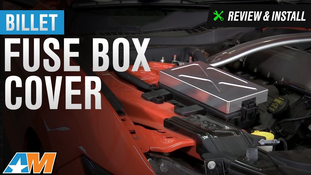 hight resolution of 2015 2017 mustang billet fuse box cover review install gt ecoboost v6