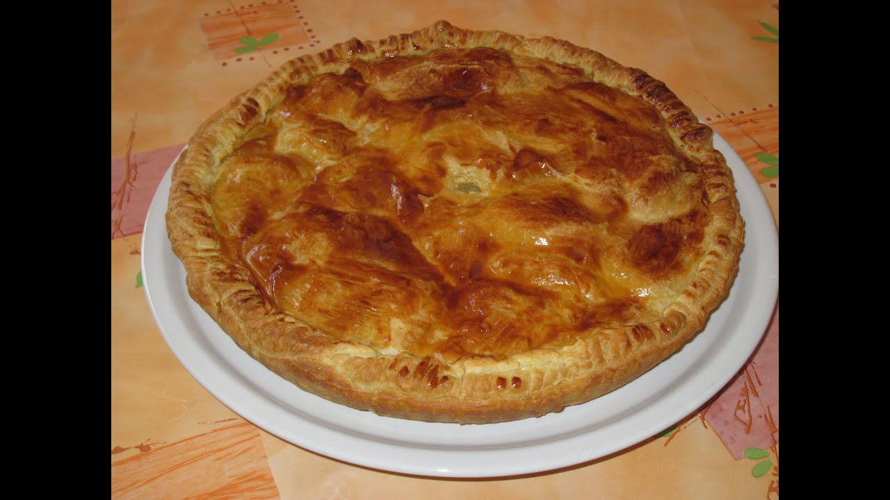 la recette rapide de la tourte aux pommes de terre potato pie recipe youtube. Black Bedroom Furniture Sets. Home Design Ideas