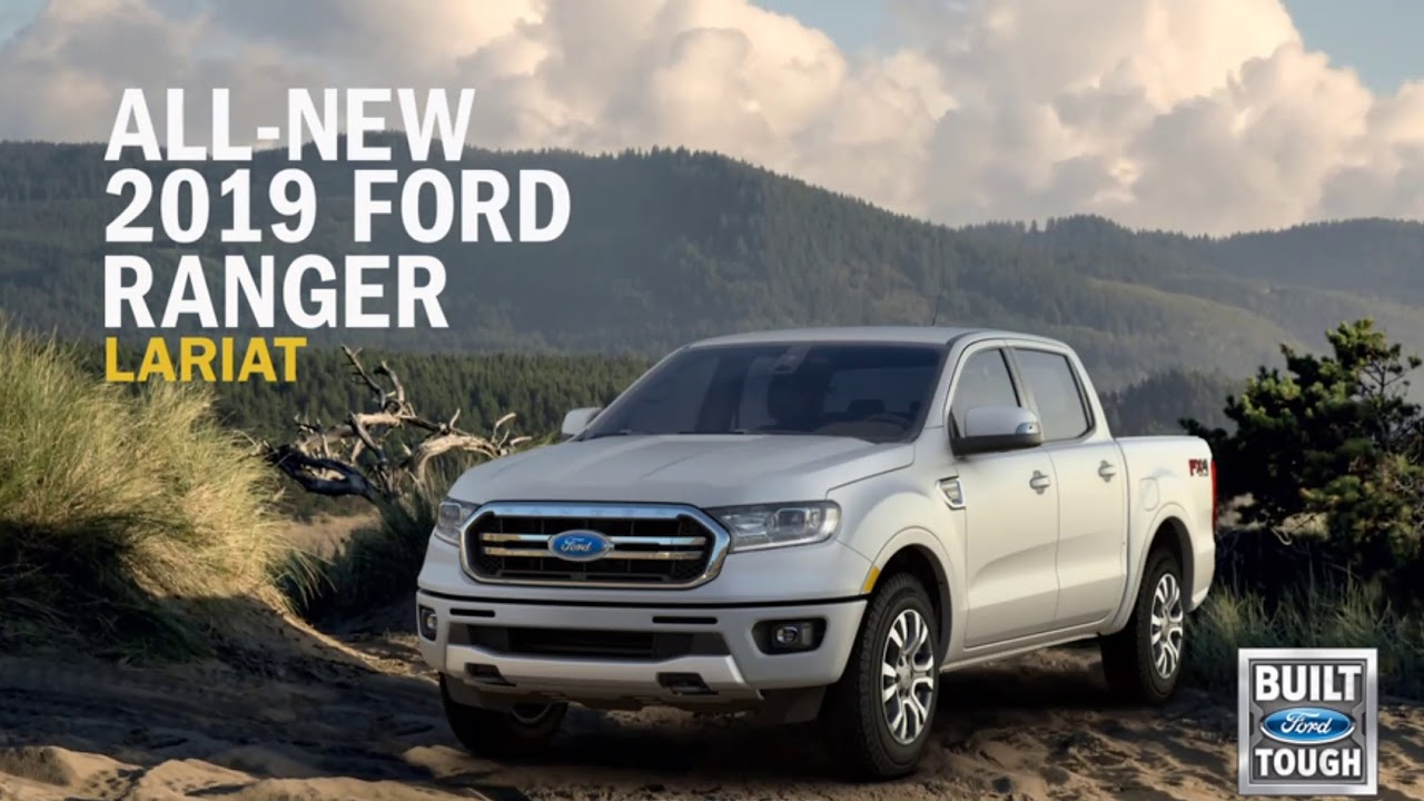 2019 Ford Ranger Trim Level & Options - YouTube