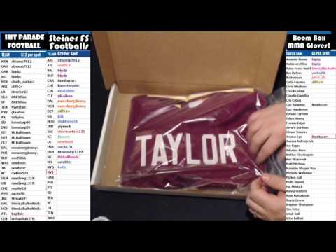 2017 02 26 2 Box Break 2017 HP Football, Daryle Lamonica, Charley Taylor