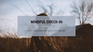 Mindful Check in 03 18 2020