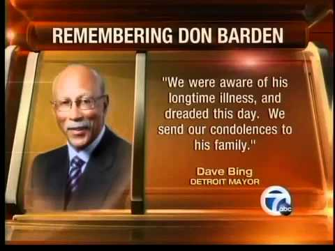 Don Barden loses his battle with cancer