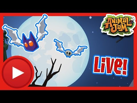 Spooky Friday the 13th Live Stream! | Animal Jam