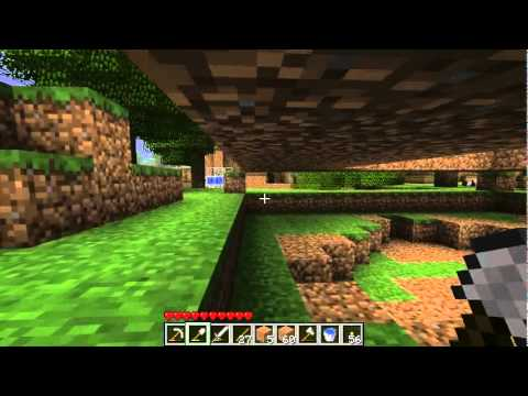 how to build a greenhouse minecraft