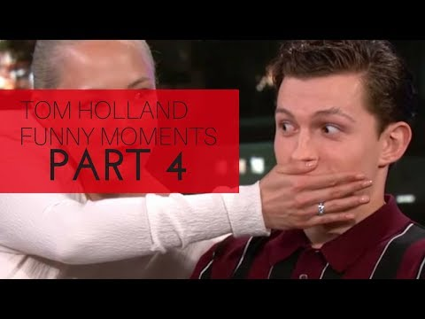 Tom Holland Funny Moments  Part 4