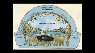 "Is the firmament just an ""expanse"" or is it the vaulted dome of the circular flat Earth?"