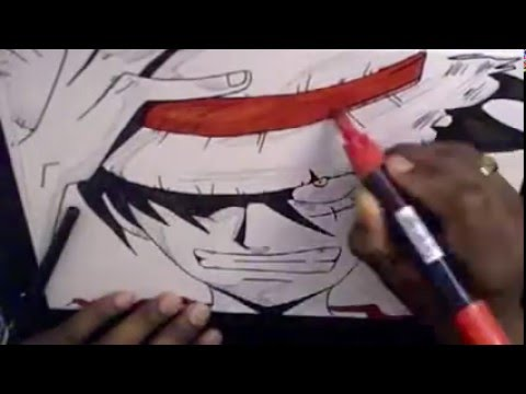 Comment dessiner luffy facilemment youtube - Comment dessiner luffy ...