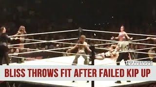 Alexa Bliss Throws Fit After Failed Kip Up (VIDEO)