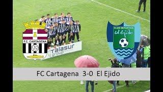 CF Cartagena  3-0  El Ejido 2012