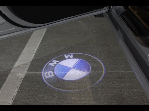 bmw led door projectors youtube. Black Bedroom Furniture Sets. Home Design Ideas