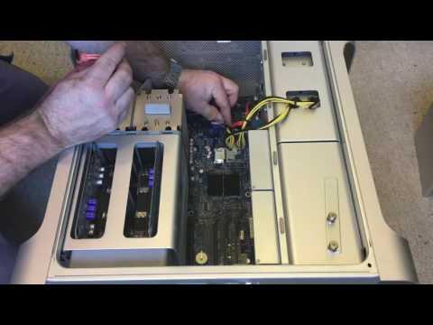 #128 Apple Mac Pro (Early 2008) DVD to SATA Blu Ray Drive Upgrade