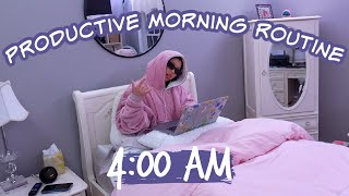 *INSANELY* PRODUCTIVE MORNING ROUTINE.