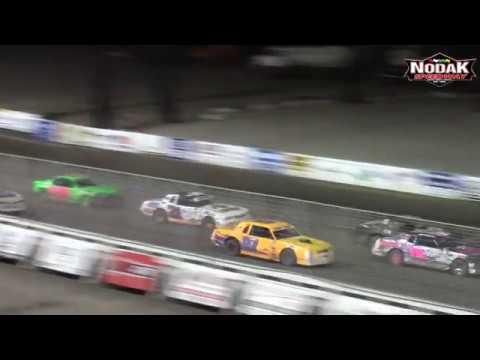 Nodak Speedway IMCA Stock Car A-Main (8/12/18)