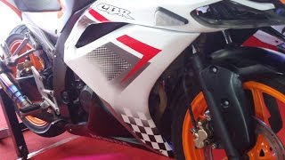 Modifikasi Honda CBR 150 R Custom Full Fairing Sporty