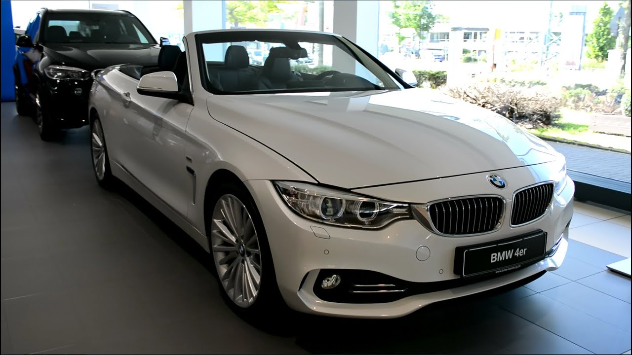 2014 new bmw 4er 420d cabrio f33 youtube. Black Bedroom Furniture Sets. Home Design Ideas