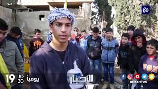 تشييع جثمان فتى فلسطيني استهدفه جنود الاحتلال بشكل مباشر - (31-1-2018)