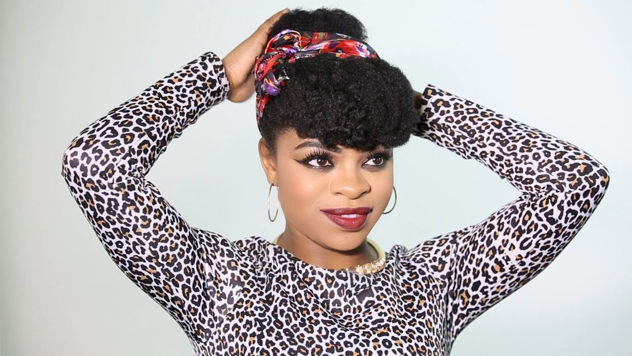 Cute Easy Hairstyles For Natural Black Hair