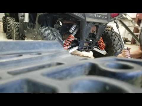 Rzr 800 spark arrestor removal ( easy way)