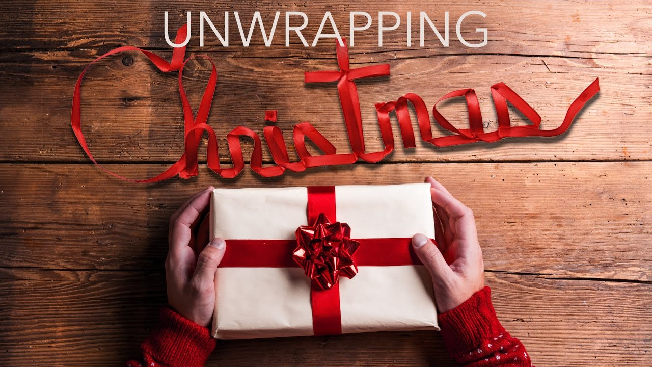 Unwrapping Christmas Graphic Design