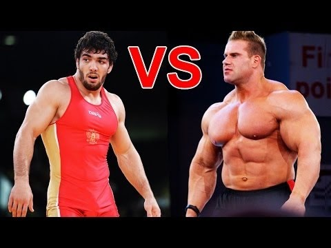 Качок 153 кг против Борца 72 кг! Вольная борьба Vs бодибилдинг!