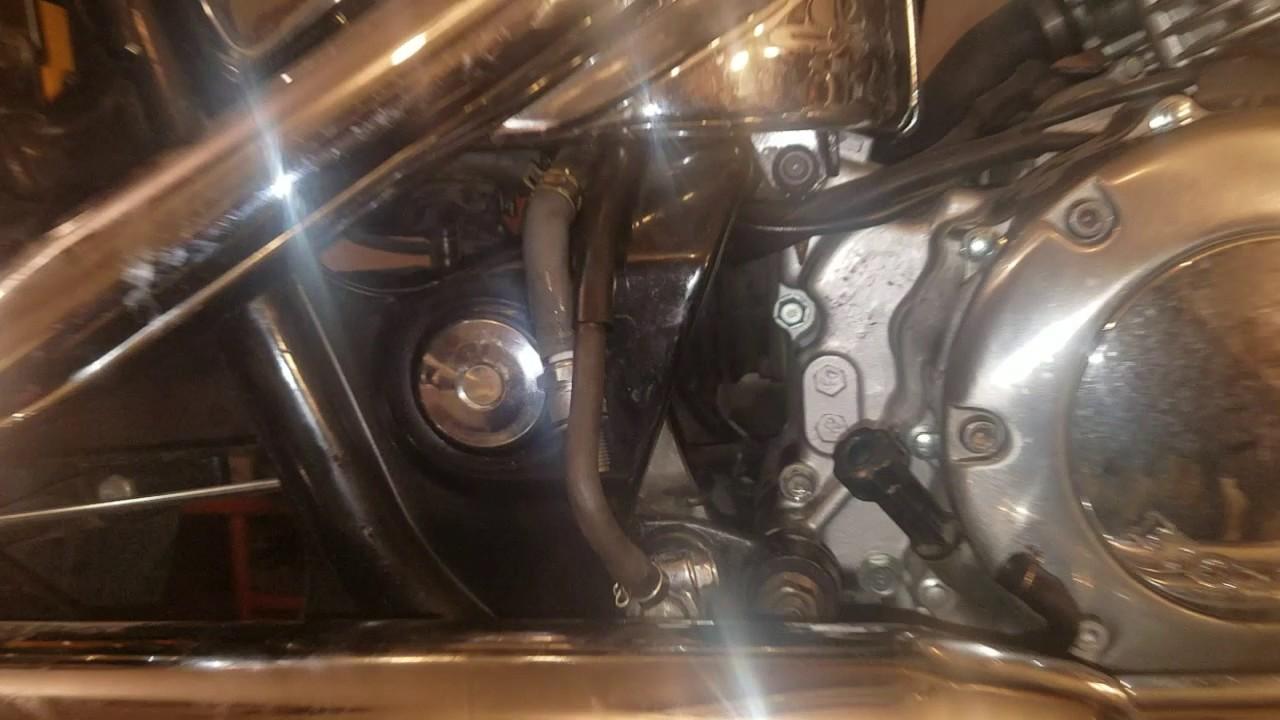 fuel pump removal 1998 vt 1100 c1 shadow spirit [ 1280 x 720 Pixel ]
