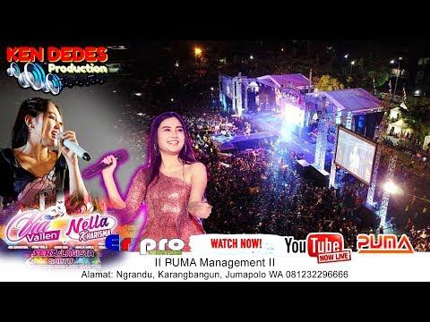 full Live Konser Via Vallen & Nella Kharisma 101Th Kab. Karanganyar