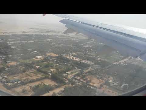 Airblue landing at Sharjah International Airport