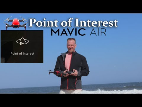 Mavic Air Point of Interest | Tutorial (2.7K Video)
