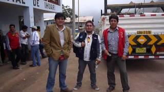 Con La gentita de prensa de Huaral  en Distrito de Ihuari 19-01-2013