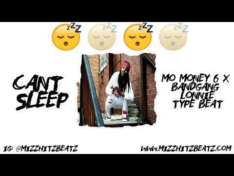 "😴[FREE]""Cant Sleep"" Mo Money x Bandgang Lonnie Detroit Type Beat 2019 