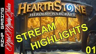 AZHP NickMaddyJoker Hearthstone Gameplay 01 Stream Highlights