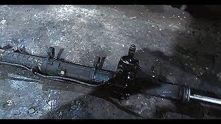 видео Замена рулевой рейки Альфа Ромео