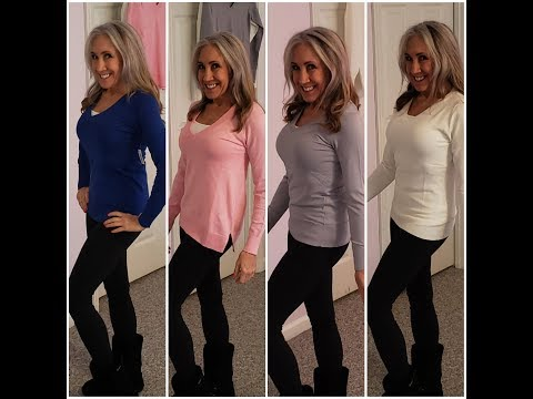V-Neck Sweaters   Lightweight   Buy Online   KimTownselYouTube