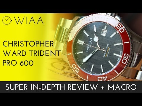 Christopher Ward C60 Trident Pro 600 Auto Watch Review