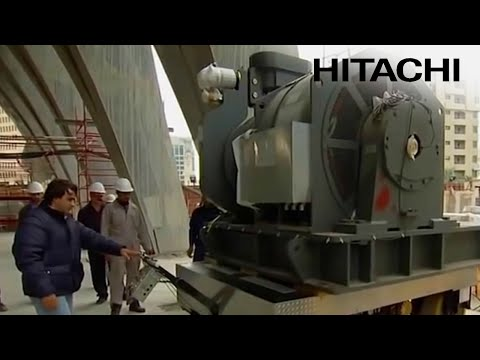 Installation of Hitachi Elevators & Escalators in Al Hamra tower - Kuwait Challenge - Hitachi