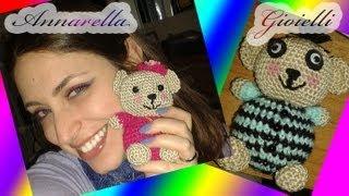 Schema Orsacchiotti Uncinetto Amigurumi | Little Bear Crochet Pattern