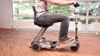 Luggie : Scooter éléctrique pliable pour PMR