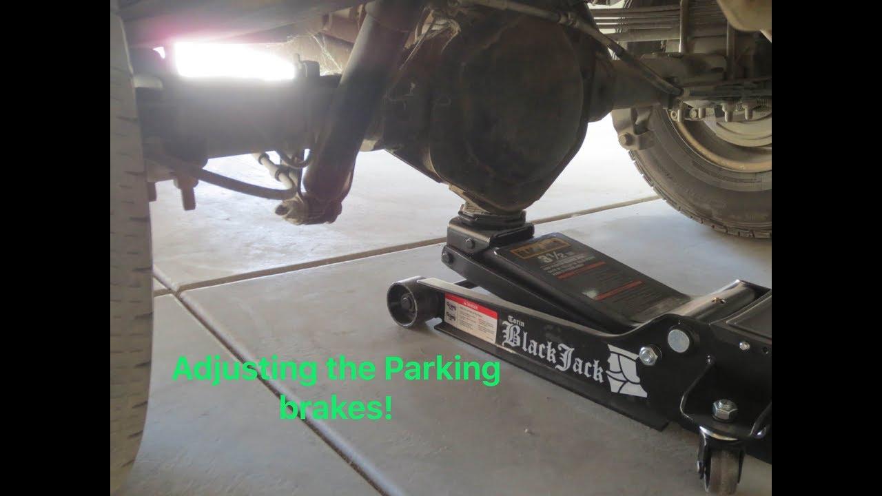 Download How to adjust parking brake Chevy Silverado 2500hd
