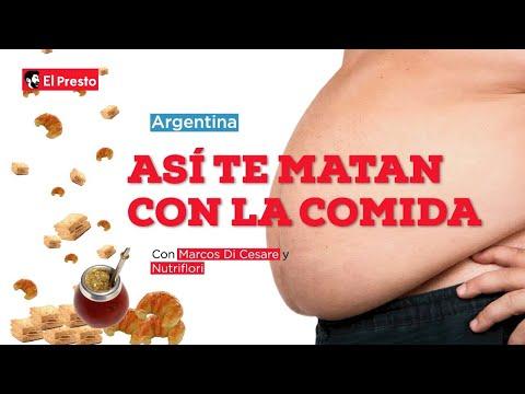 ARGENTINA: ASÍ TE MATAN CON LA COMIDA | Con Marcos Di Cesare y Nutriflori