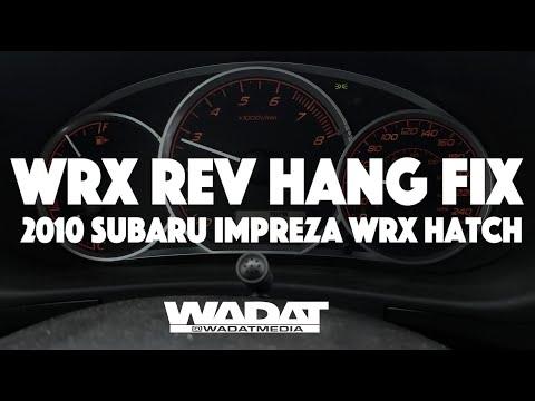 Rev Hang Fix for Subaru/ECU Re-learn DIY
