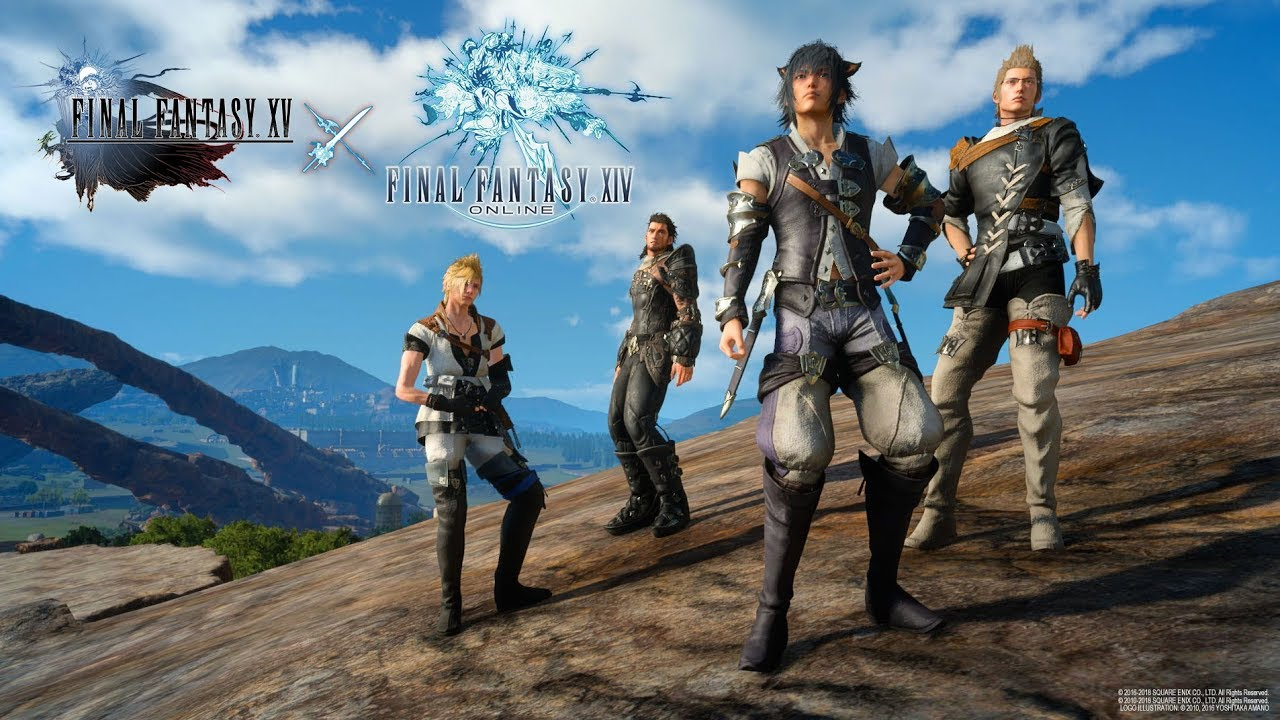 Final Fantasy XV x Final Fantasy XIV collaboration quest launch