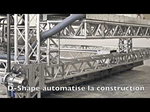 D shape imprimante 3d youtube for Construction de maison imprimante 3d