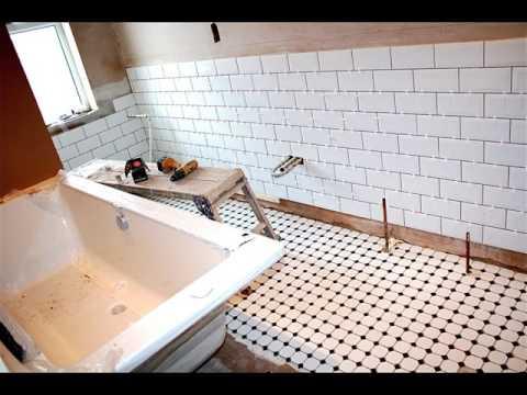 metro tiles bathroom ideas White Metro Tiles Bathroom Design Ideas - YouTube